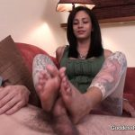Goddess Jamie, Goddess Brianna In Scene: Cock Blocker – GODDESSFOOTJOBS – HD/720p/MP4
