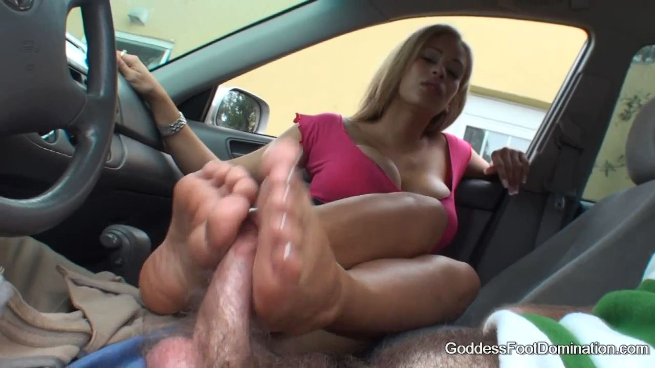 Goddess Jamie In Scene: Drivers Education - GODDESSFOOTJOBS - HD/720p/MP4