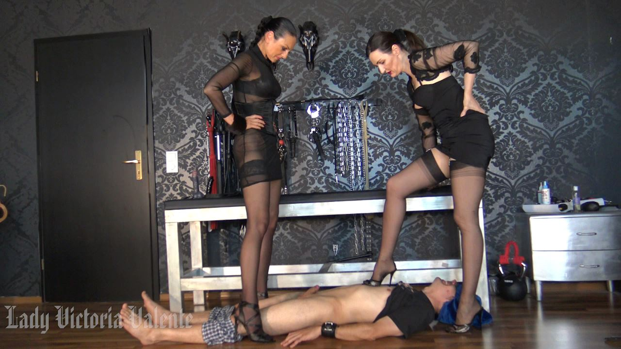 Lady Victoria Valente In Scene: Double domination with Madame Catarina - CLIPS4SALE / LADYVICTORIAVALENTE - HD/720p/MP4