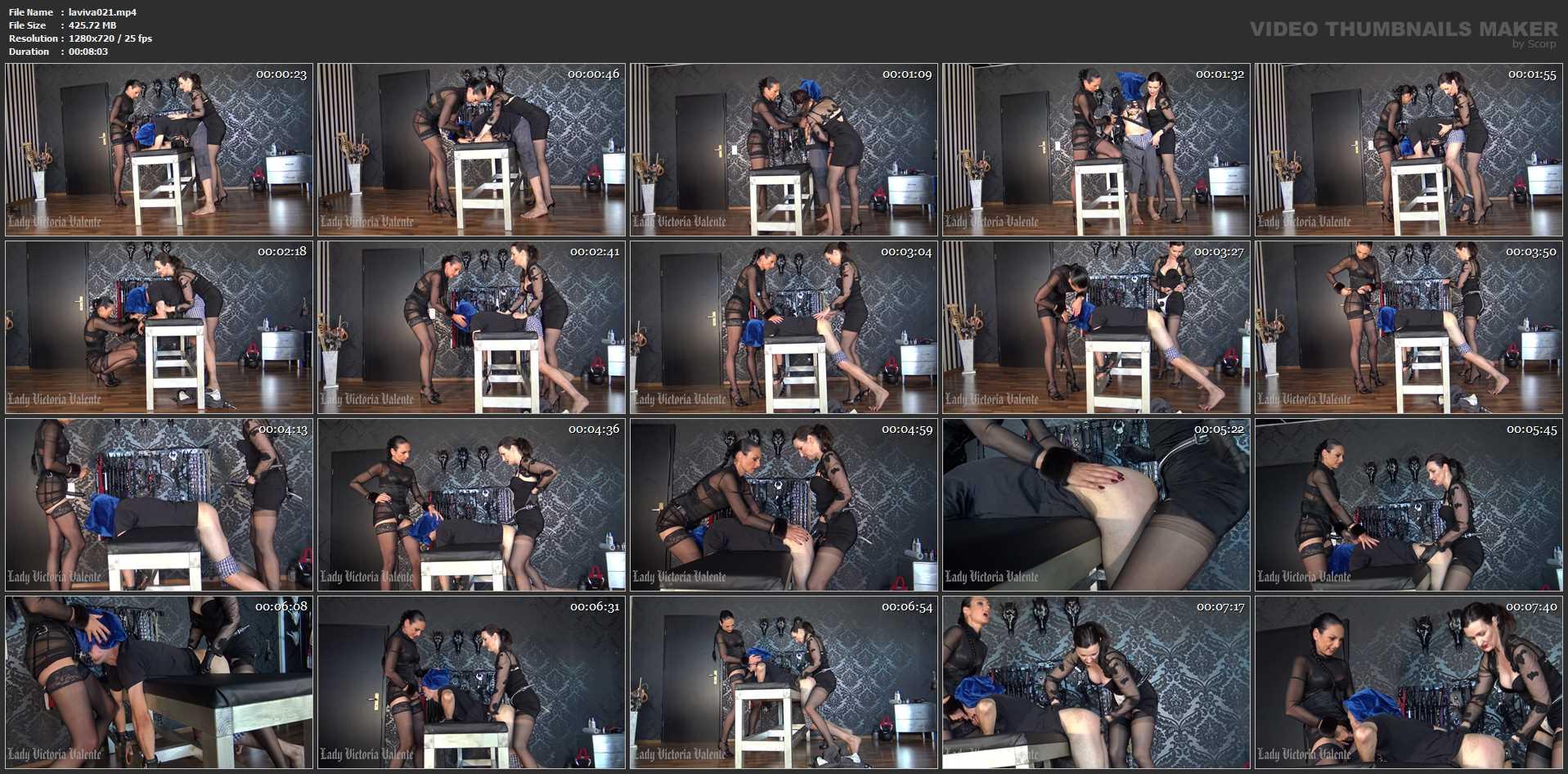 Lady Victoria Valente In Scene: Strap-On game with Madame Catarina - CLIPS4SALE / LADYVICTORIAVALENTE - HD/720p/MP4