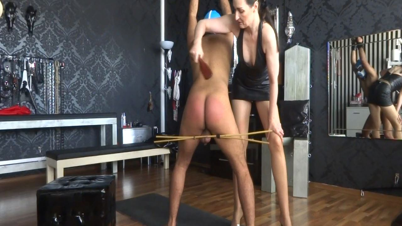 Lady Victoria Valente In Scene: Slave Theo leatherpaddle spanking Part 6 - CLIPS4SALE / LADYVICTORIAVALENTE - HD/720p/MP4