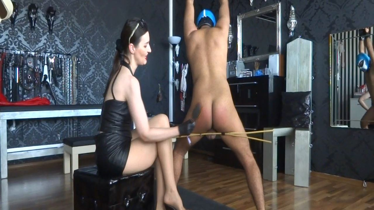 Lady Victoria Valente In Scene: Slave Theo hairbrush spanking Part 5 - CLIPS4SALE / LADYVICTORIAVALENTE - HD/720p/MP4