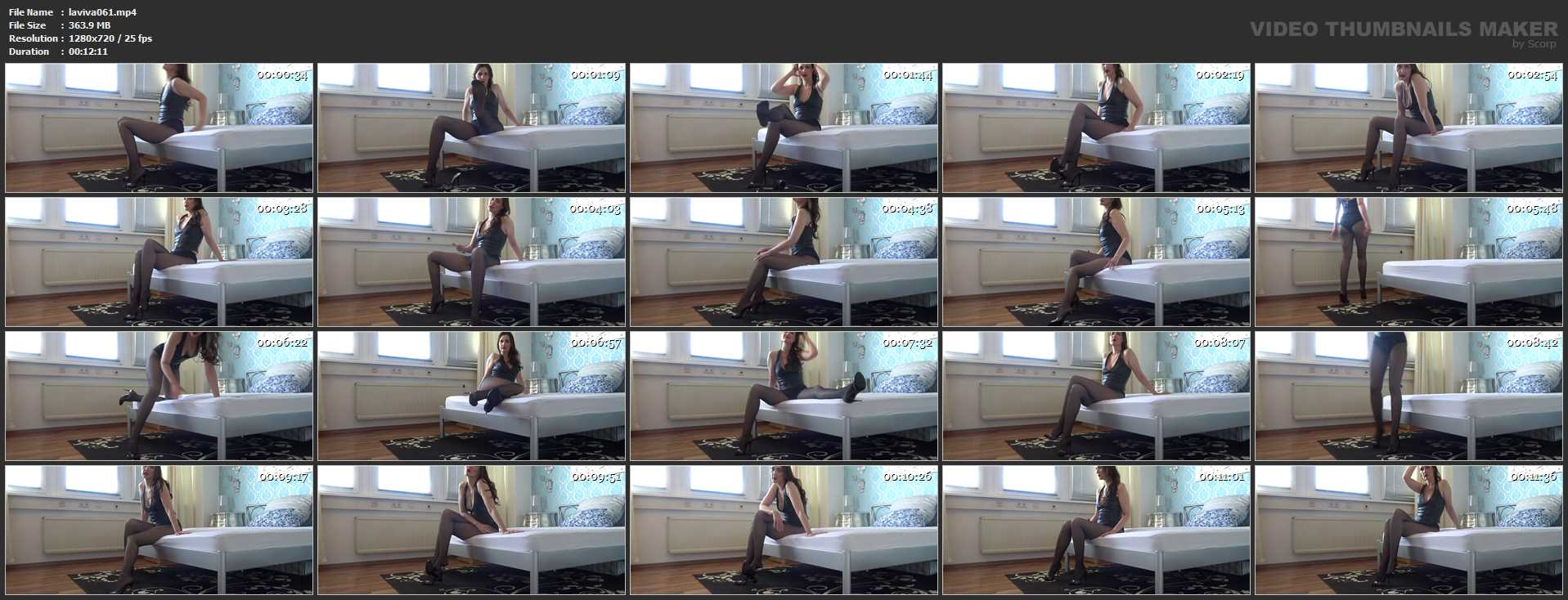 Lady Victoria Valente In Scene: Masturbation game for my chastity slave - CLIPS4SALE / LADYVICTORIAVALENTE - HD/720p/MP4