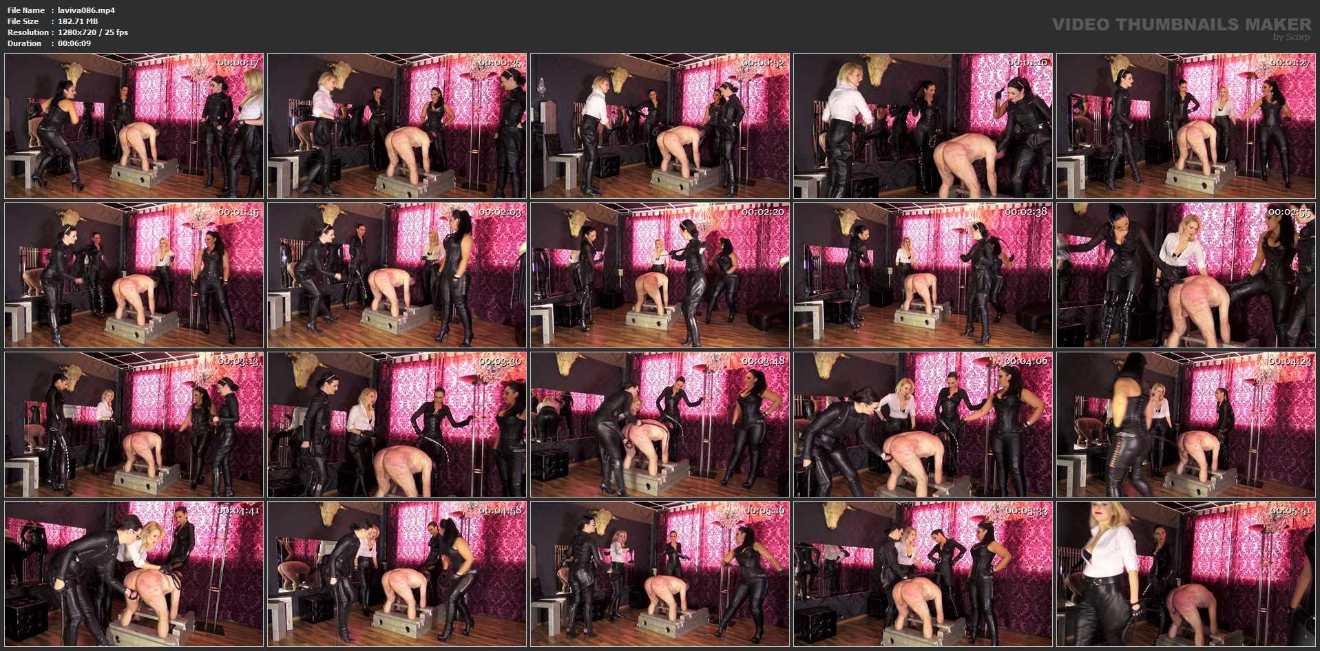 Lady Victoria Valente In Scene: 4 Mistresses, 4 whips Part 2 - CLIPS4SALE / LADYVICTORIAVALENTE - HD/720p/MP4