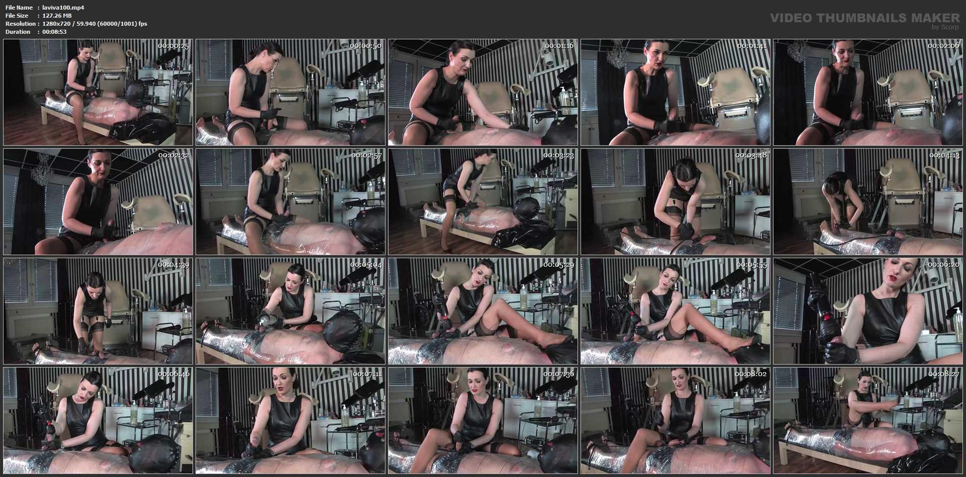 Lady Victoria Valente In Scene: The cling foil bondage slave Part 2 - CLIPS4SALE / LADYVICTORIAVALENTE - HD/720p/MP4