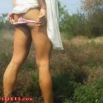 Mandy Flores In Scene: Outdoor Public Roadside Shit JOI With Slow Motion – MANDYFLORES – FULL HD/1080p/MP4