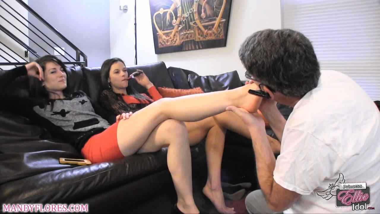 Mandy Flores In Scene: Foot Bitch Slaveray - MANDYFLORES - HD/720p/MP4