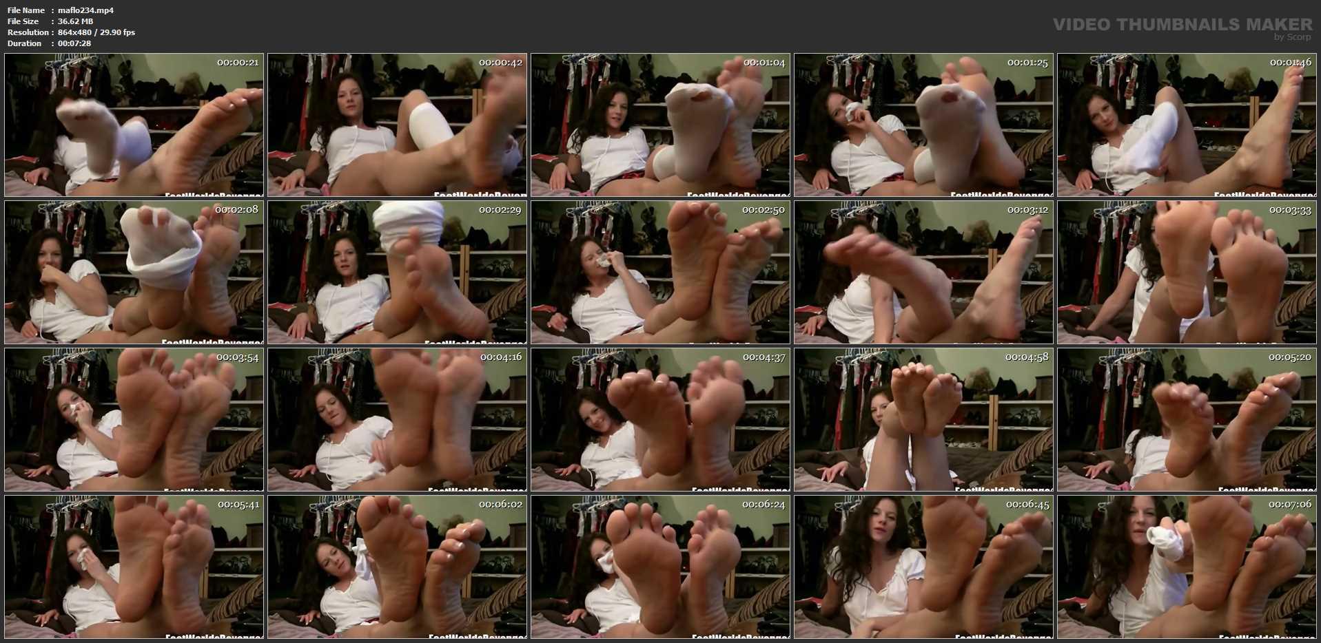 Mandy Flores In Scene: POV Socks & Feet - MANDYFLORES - SD/480p/MP4