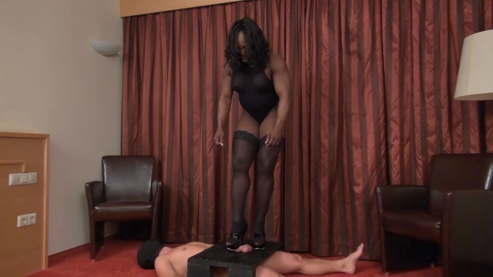 Mistress Treasure In Scene: Trampled cock - MISTRESSTREASURE - SD/540p/MP4