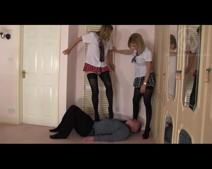 Mistress Nikki Whiplash, Mistress Sarah Jessica In Scene: Trampled by schoolgirls in Louboutins - CLIPS4SALE / MISTRESS NIKKI WHIPLASH / MISTRESS WHIPLASH - SD/576p/MP4