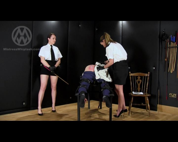 Mistress Nikki Whiplash, Miss Jessica In Scene: 100-Stroke Judicial Caning: The Fourth 20 Strokes - CLIPS4SALE / MISTRESS NIKKI WHIPLASH / MISTRESS WHIPLASH - SD/576p/MP4