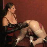 Lady Asmodena In Scene: Train Fist Fuck 5 – STRAPON-GODDESS – HD/720p/MP4