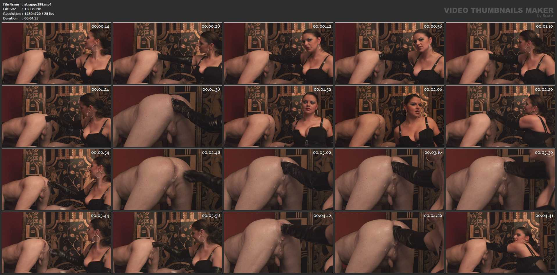 Lady Asmodena In Scene: Arm Fist 2 - STRAPON-GODDESS - HD/720p/MP4