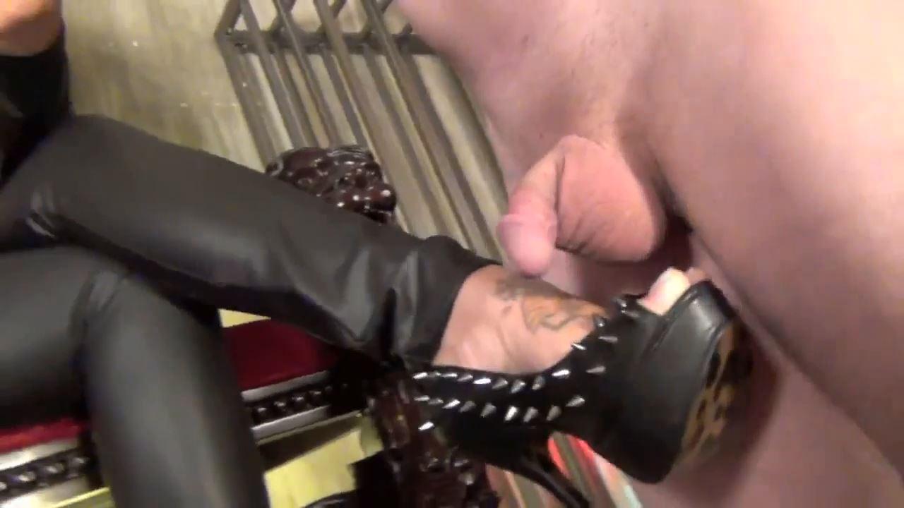 Spiked Stiletto Foot Job. Starring Siren Hikari - CLIPS4SALE / ASIAN CRUELTY - HD/720p/MP4