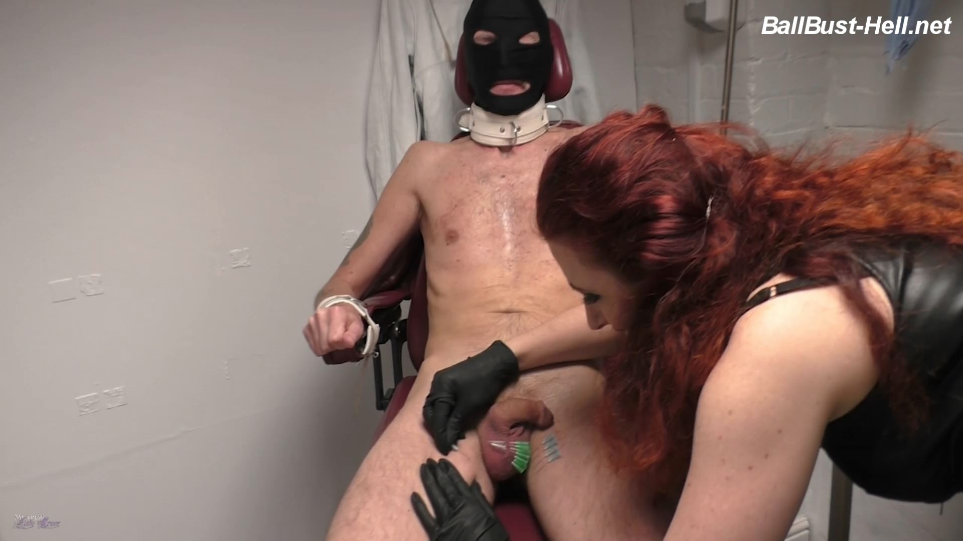 Mistress Lady Renee In Scene: Cock Head Needling - MistressLadyRenee - FULL HD/1080p/MP4
