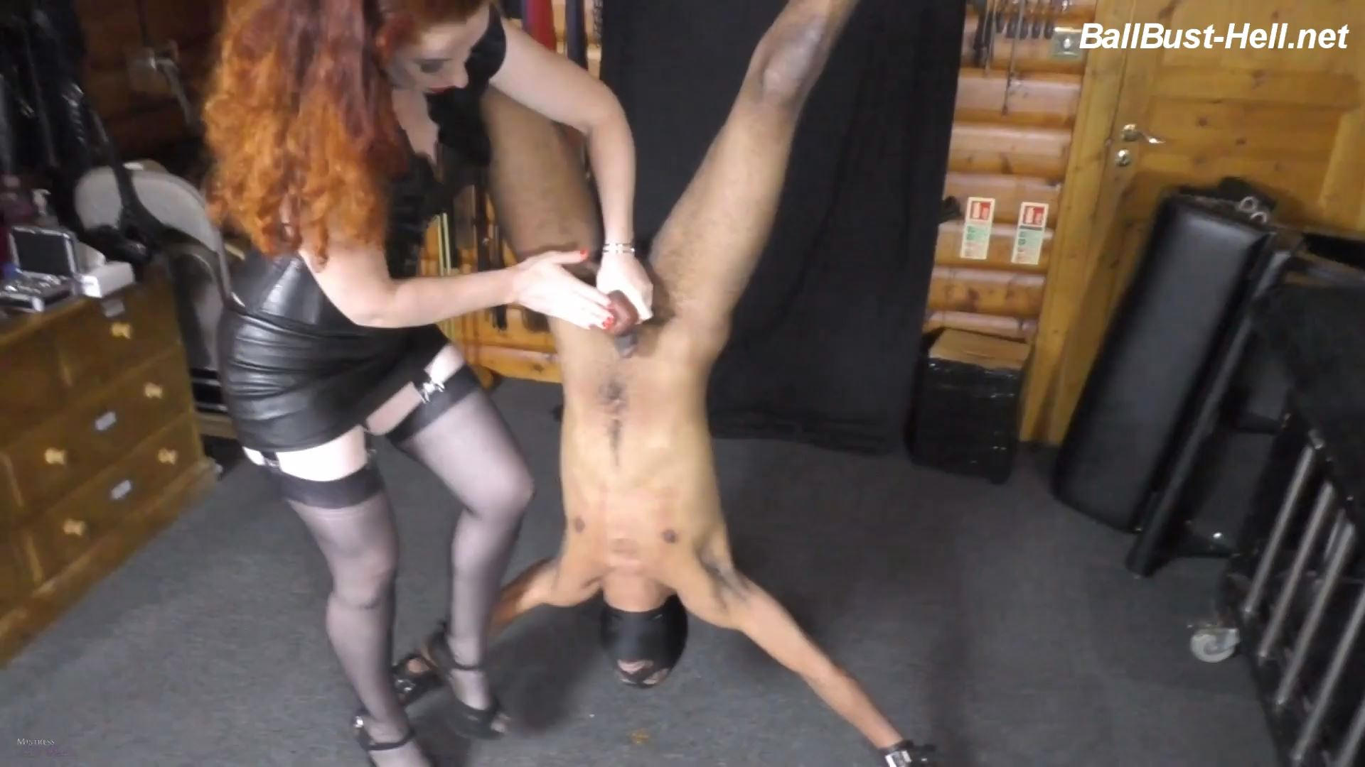 Mistress Lady Renee In Scene: Squishy suspension - MistressLadyRenee - FULL HD/1080p/MP4