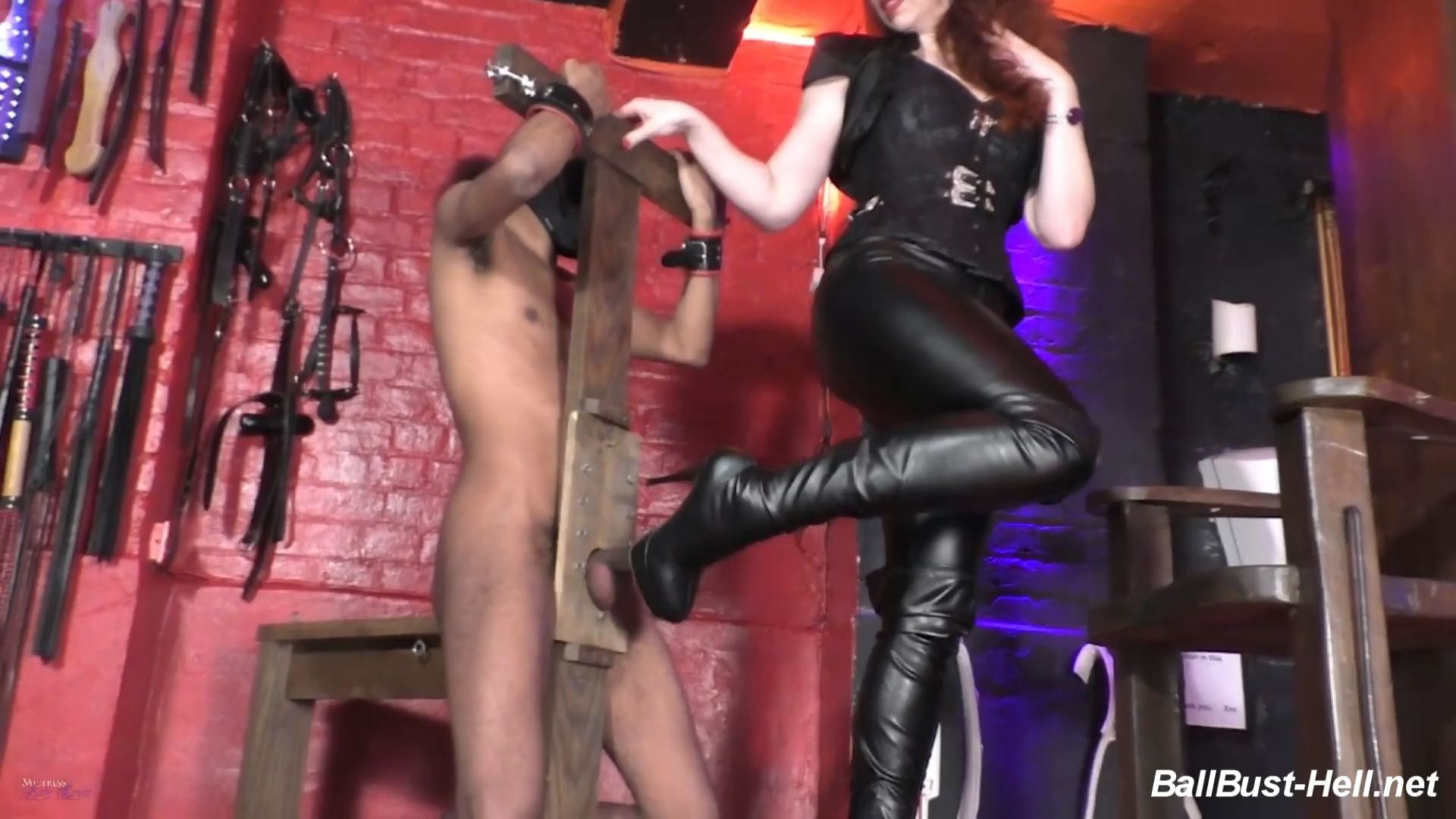 Mistress Lady Renee In Scene: Predicament Balls - MistressLadyRenee - FULL HD/1080p/MP4