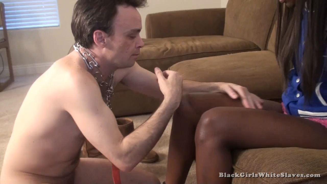 I Have A White Slave - BLACKGIRLSWHITESLAVES - HD/720p/MP4