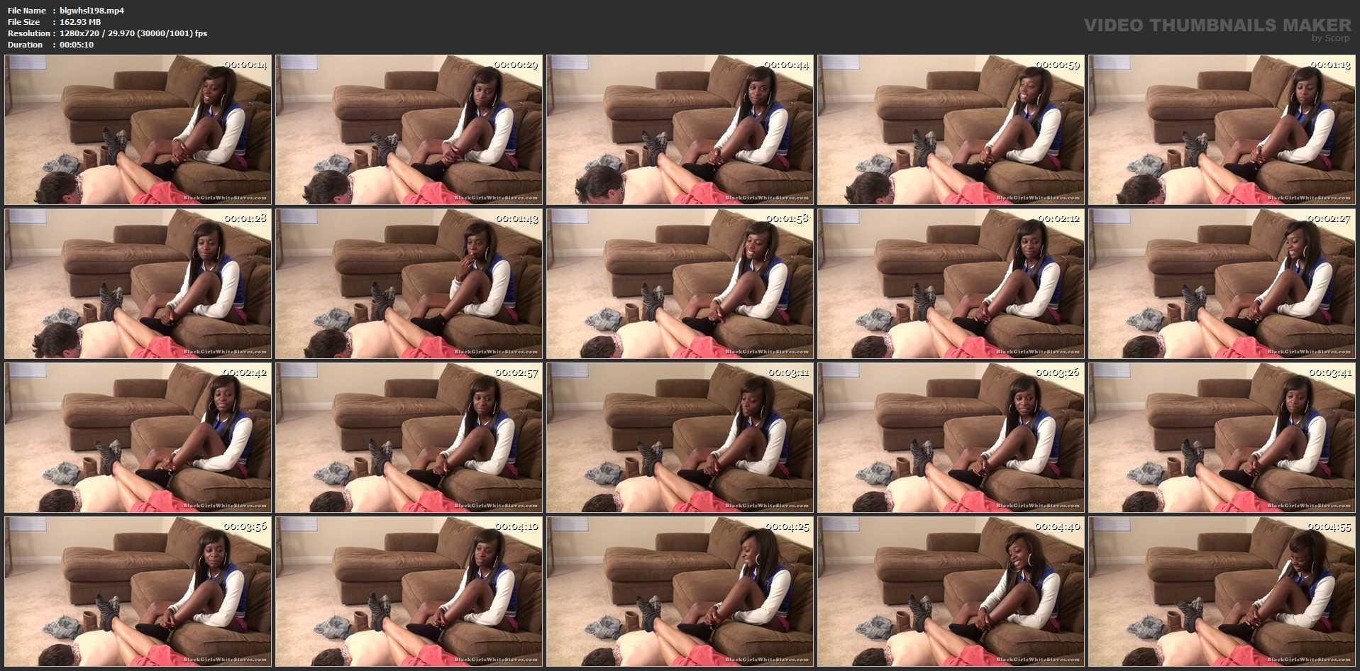 My Stool - BLACKGIRLSWHITESLAVES - HD/720p/MP4
