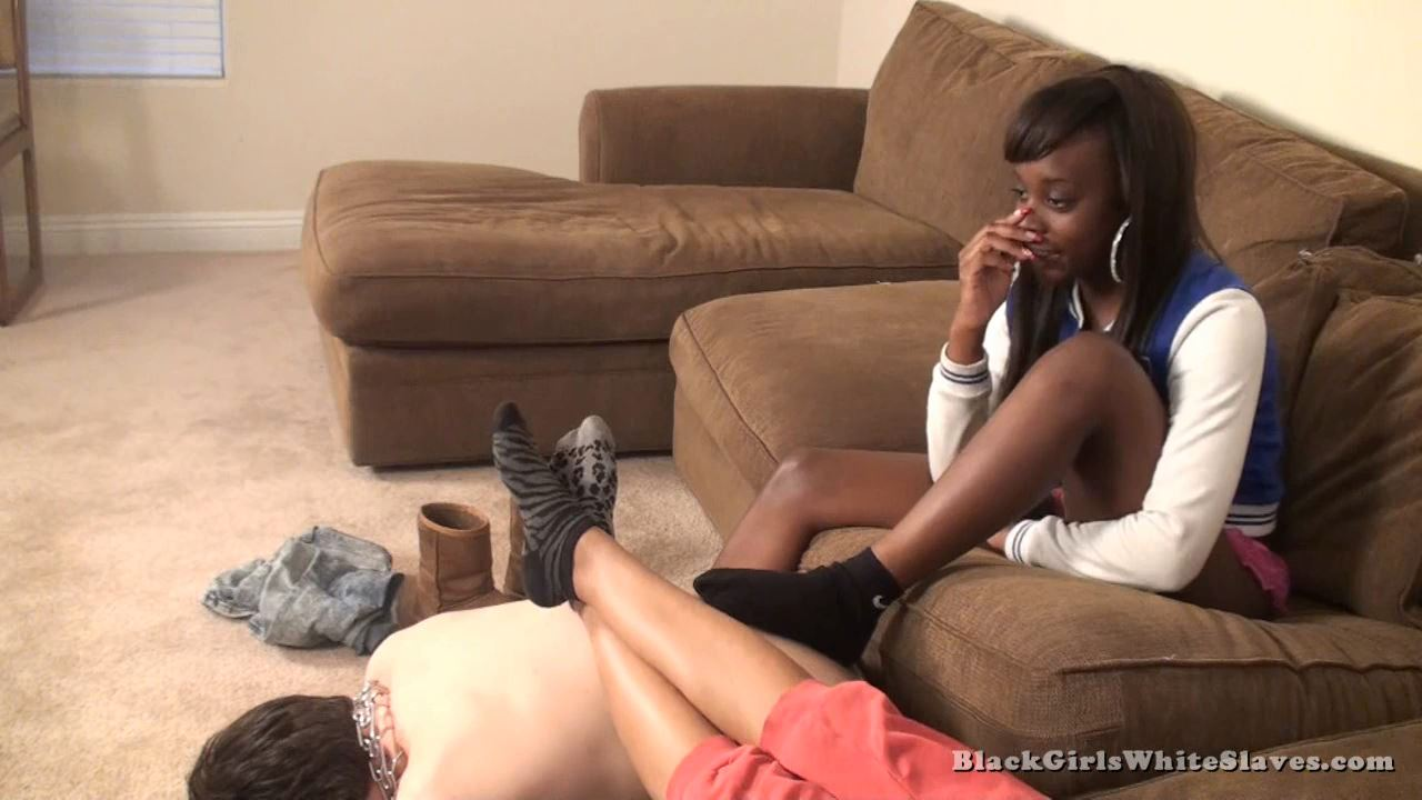 My Stool - BLACKGIRLSWHITESLAVES - HD/720p/MP4