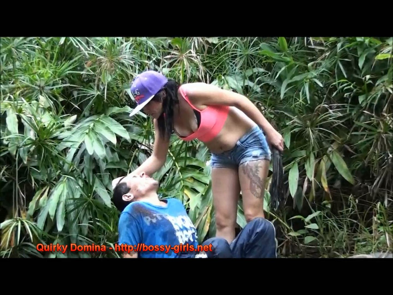 Mistress Yaza In Scene: QUIRKY DOMINA 03 Riveside Promenade - BOSSY-GIRLS - FULL HD/1080p/MP4