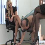 Lucy Zara, Mistress Ashleigh Embers In Scene: The Back Office Part 1 – THEBRITISHINSTITUTION – SD/576p/MP4