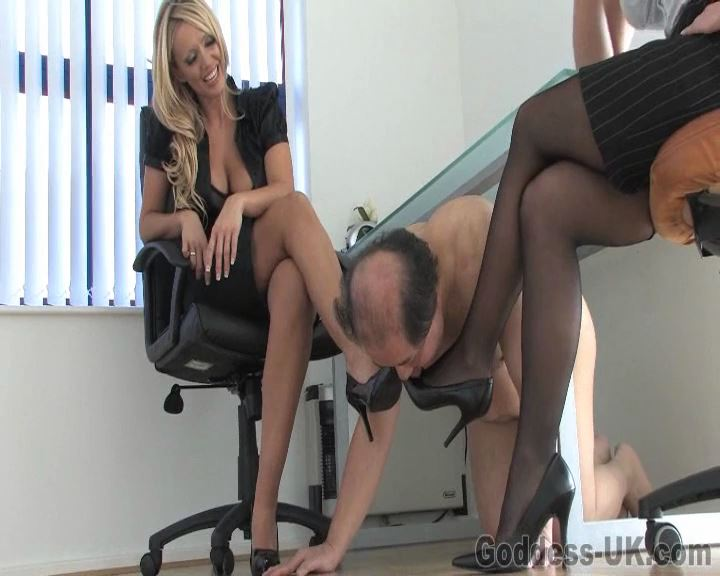 Lucy Zara, Mistress Ashleigh Embers In Scene: The Back Office Part 1 - THEBRITISHINSTITUTION - SD/576p/MP4