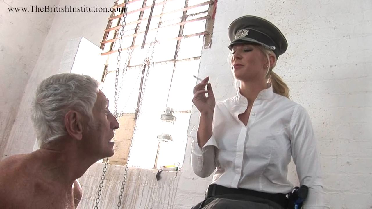 Mistress Ashleigh Embers In Scene: Overnight Boot Cleaner - THEBRITISHINSTITUTION - HD/720p/MP4