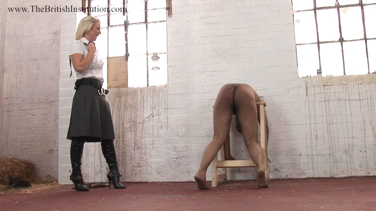 Mistress Ashleigh Embers In Scene: Cuffed Up Sweep Part 5 - THEBRITISHINSTITUTION - HD/720p/MP4