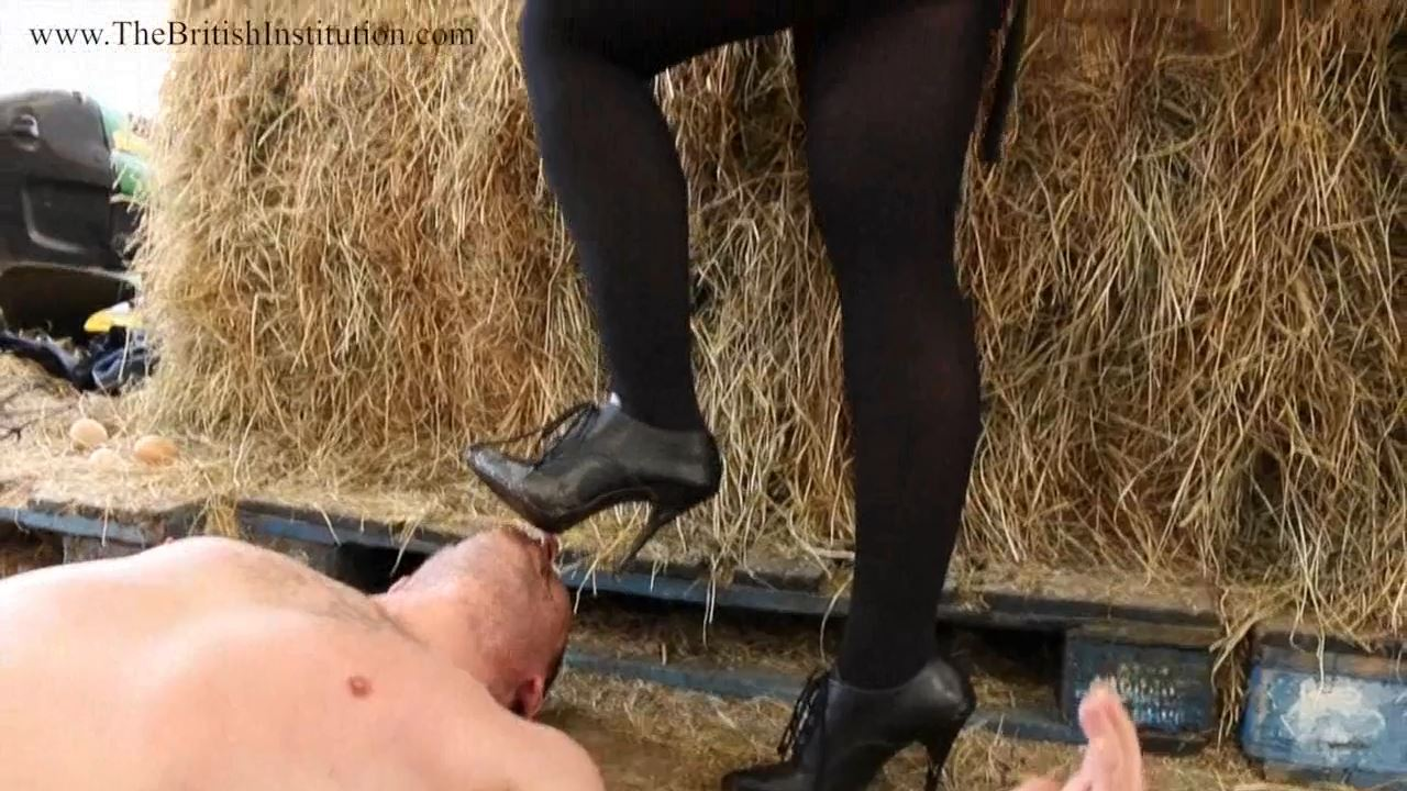 The Shit On Her Shoe Part 1 - THEBRITISHINSTITUTION - HD/720p/MP4