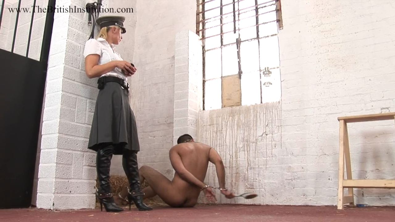 Mistress Ashleigh Embers In Scene: Cuffed Up Sweep Part 2 - THEBRITISHINSTITUTION - HD/720p/MP4