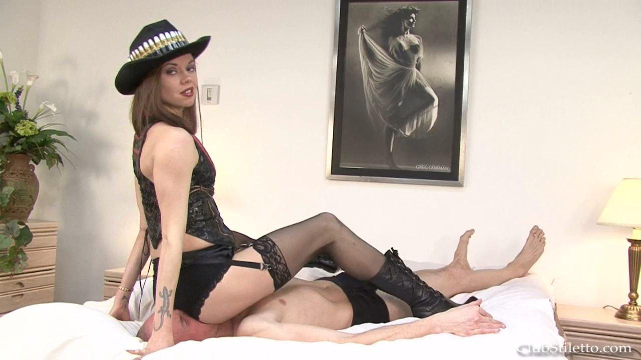 Mistress Bijou Steal In Scene: I Ride Men's Faces - CLUBSTILETTO - HD/720p/MP4