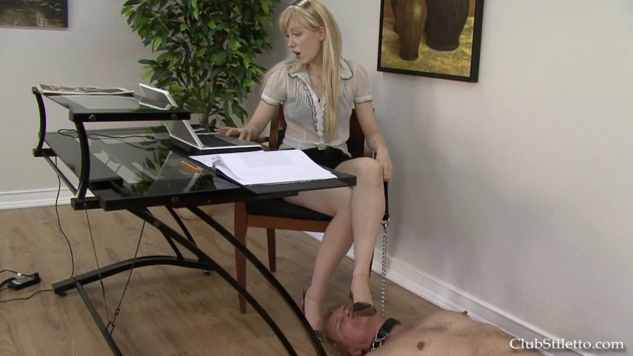 Princess Ami In Scene: I Rule the Office Now - The CEO Becomes Ami's Shoe Licking Bitch - CLUBSTILETTO - HD/720p/MP4