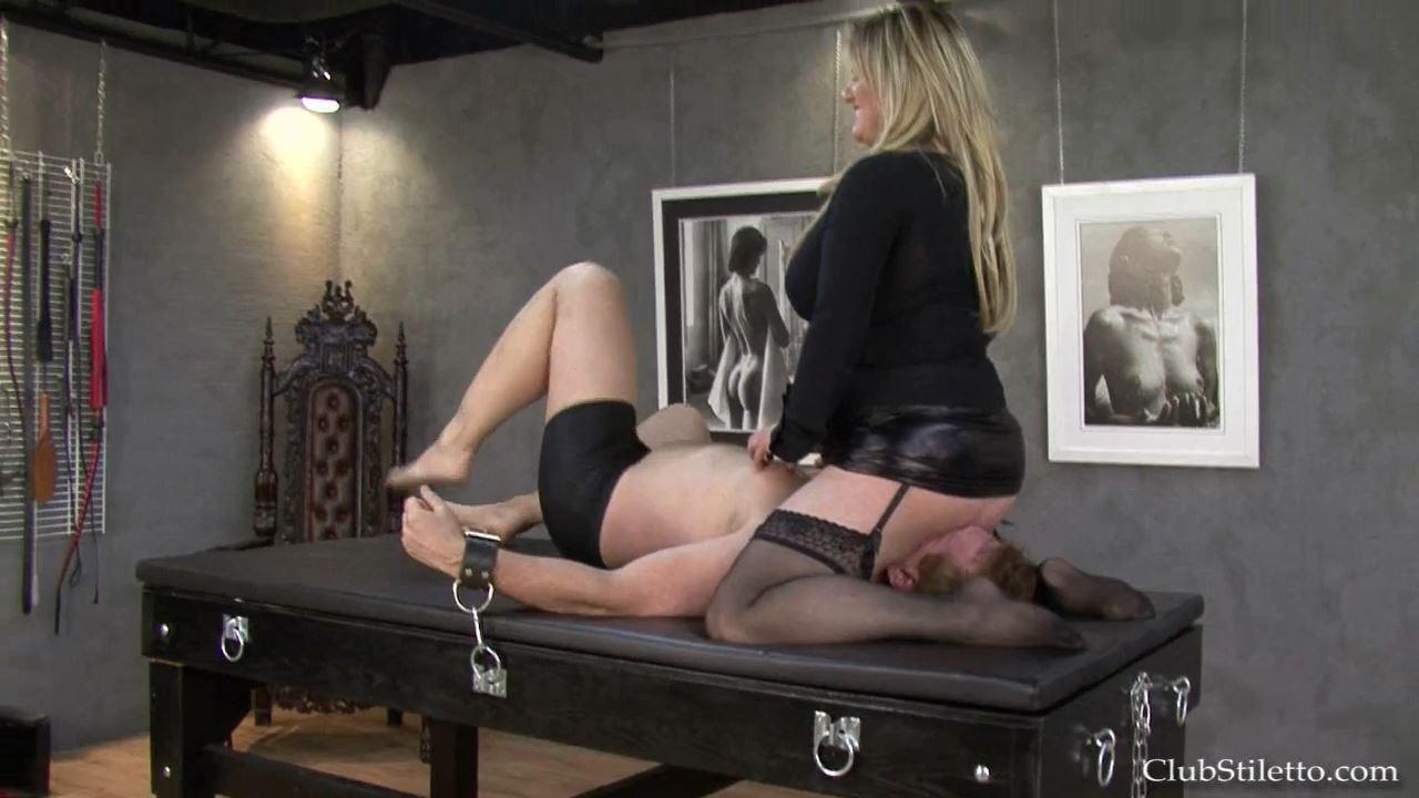 Mistress Velvet In Scene: I Want Every Morsel Cleaned Toilet Paper - CLUBSTILETTO - HD/720p/MP4