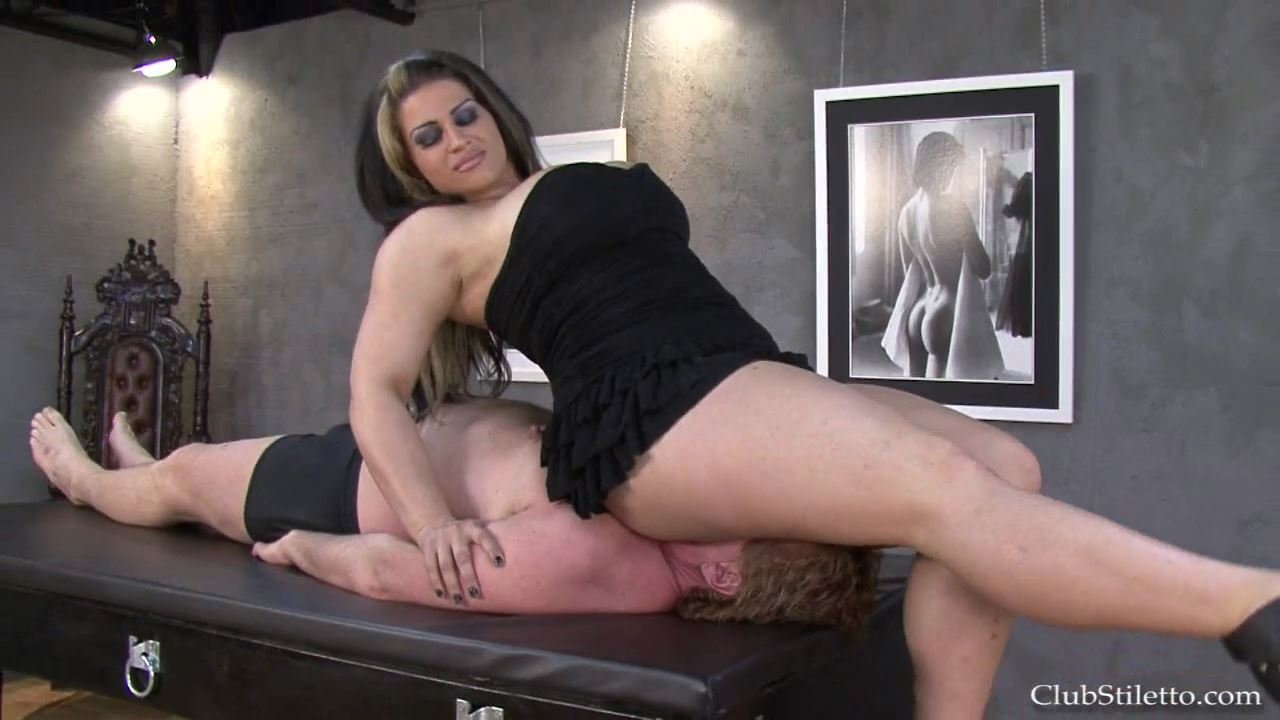 Goddess Samantha In Scene: Big Butt Crush - CLUBSTILETTO - HD/720p/MP4