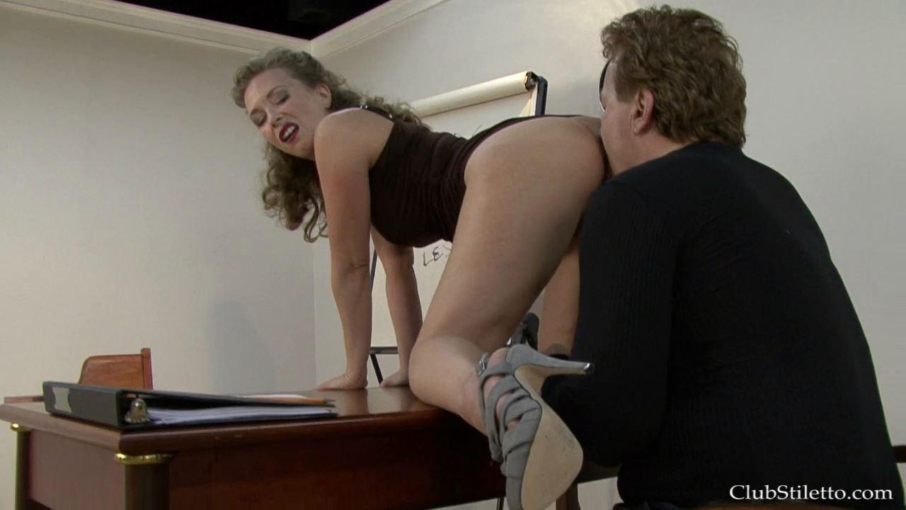 Mistress T In Scene: School Detention Ass Licker - CLUBSTILETTO - HD/720p/MP4
