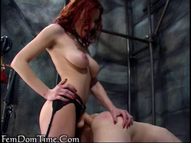 Mistress Kathryn In Scene: Obedient male brought down - FEMDOMTIME - SD/480p/MP4