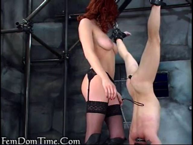 Mistress Kathryn In Scene: Upside down pleasures - FEMDOMTIME - SD/480p/MP4