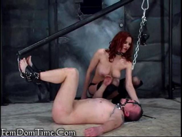 Mistress Kathryn In Scene: A hanging piece of submissive meat - FEMDOMTIME - SD/480p/MP4