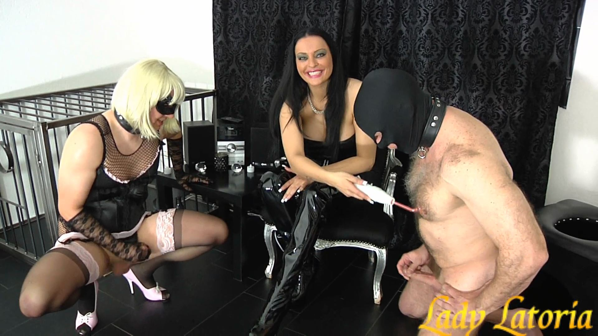 Mistress Lady Latoria In Scene: Wank contest 2 - CLIPS4SALE / LADY LATORIAS WORLD / HERRIN-LATORIA - FULL HD/1080p/MP4