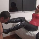 Ama K In Scene: Face Slapped By The Red Devil – LATINBEAUTIESINHIGHHEELS – HD/720p/MP4