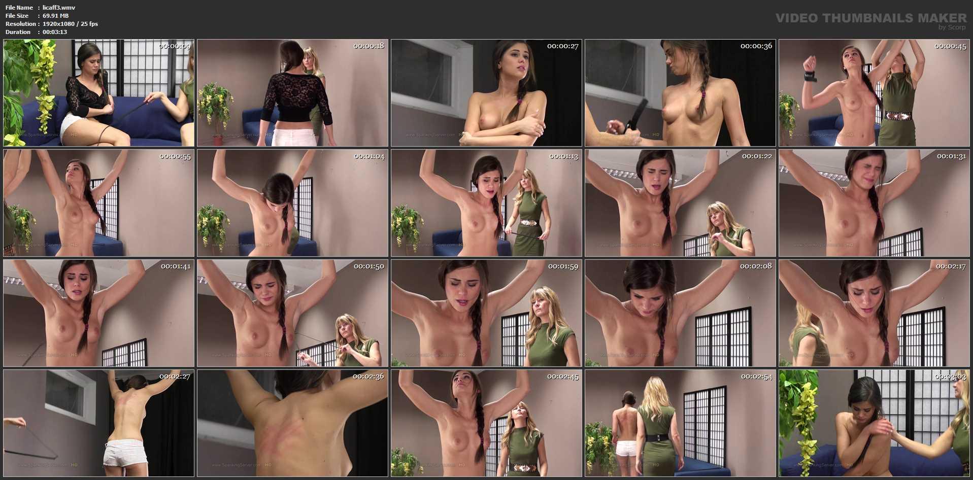 Little Caprice In Scene: LITTLE CAPRICE SPANKED 3 - SPANKINGSERVER - HD/720p/WMV