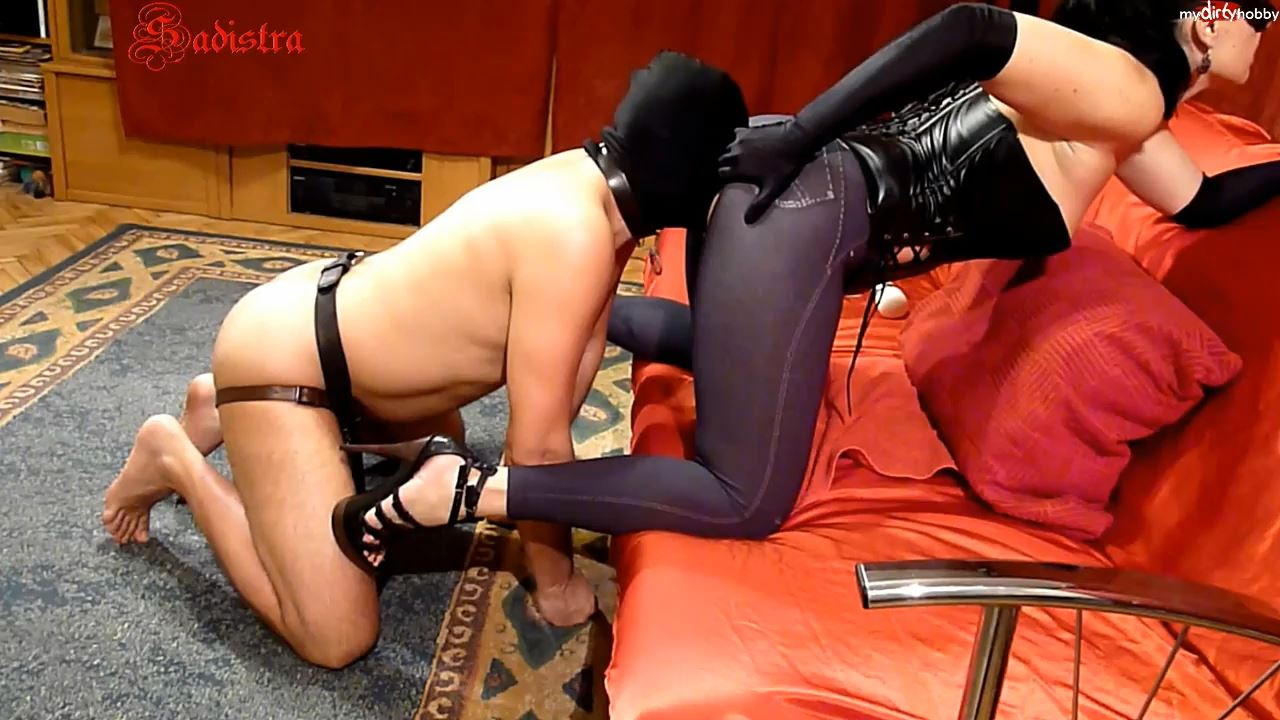 Mistress Sadistra In Scene: Red room - doggy's happiness - MYDIRTYHOBBY / SADISTRA - HD/720p/MP4