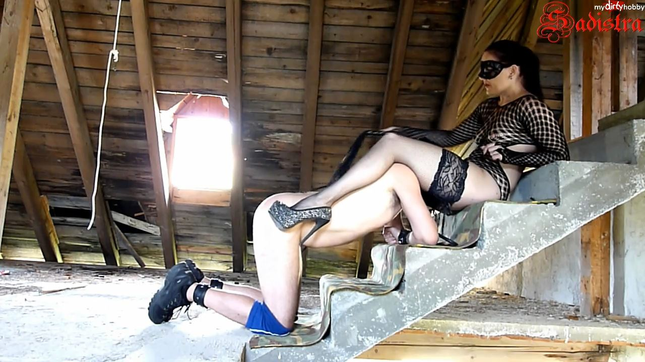 Mistress Sadistra In Scene: Worshipping Mistress Sadistra - MYDIRTYHOBBY / SADISTRA - HD/720p/MP4