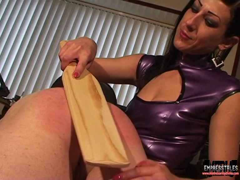 Mistress Anita Divina In Scene: OTK PUNISHMENT IN THE OFFICE - MISTRESSANITADIVINA - SD/576p/MP4