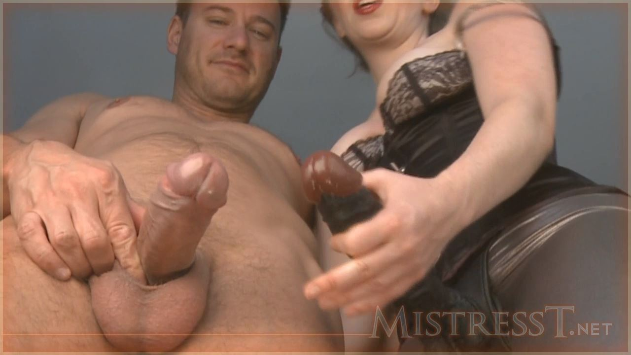 Mistress T In Scene: Forced Bi In Both Ends - MISTRESST - HD/720p/MP4