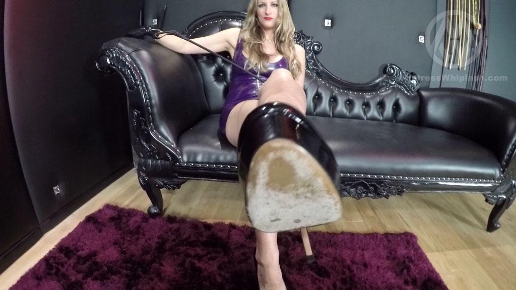 Mistress Nikki Whiplash In Scene: POV footslave - CLIPS4SALE / MISTRESS NIKKI WHIPLASH / MISTRESS WHIPLASH - SD/576p/MP4