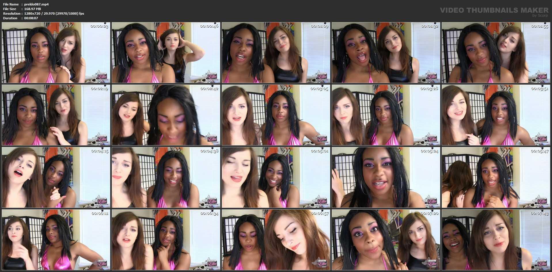 Ellie Idol In Scene: Racism Needs To D1e - PRINCESSELLIEIDOL - HD/720p/MP4