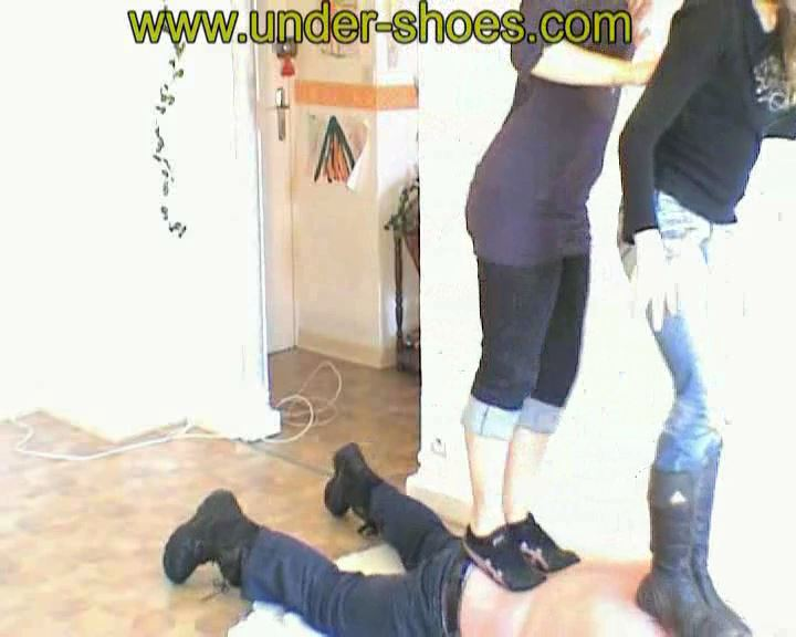 Eva and Laurie - UNDER-SHOES - SD/576p/MP4