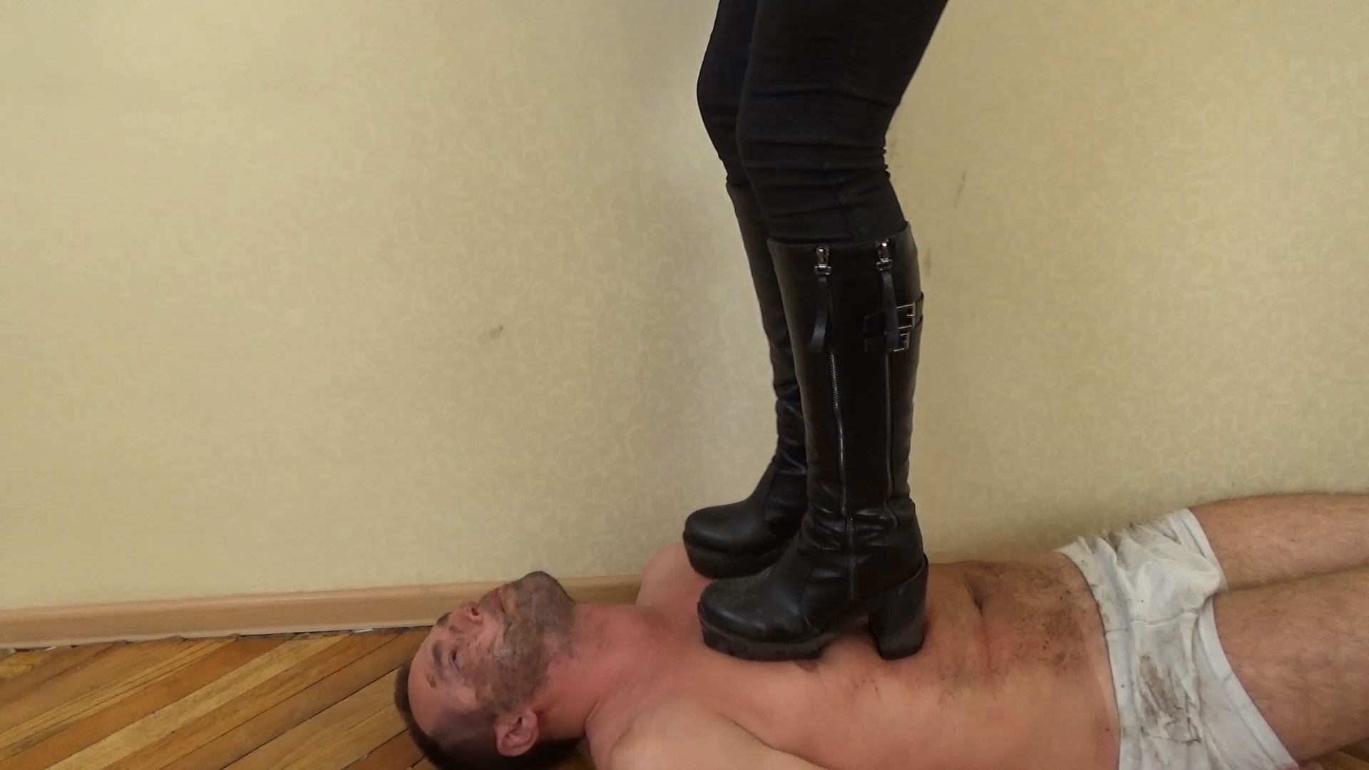 Crushed By My Dirty Boots - UNDER SWEET WEIGHT / CLIPS4SALE - FULL HD/1080p/MP4